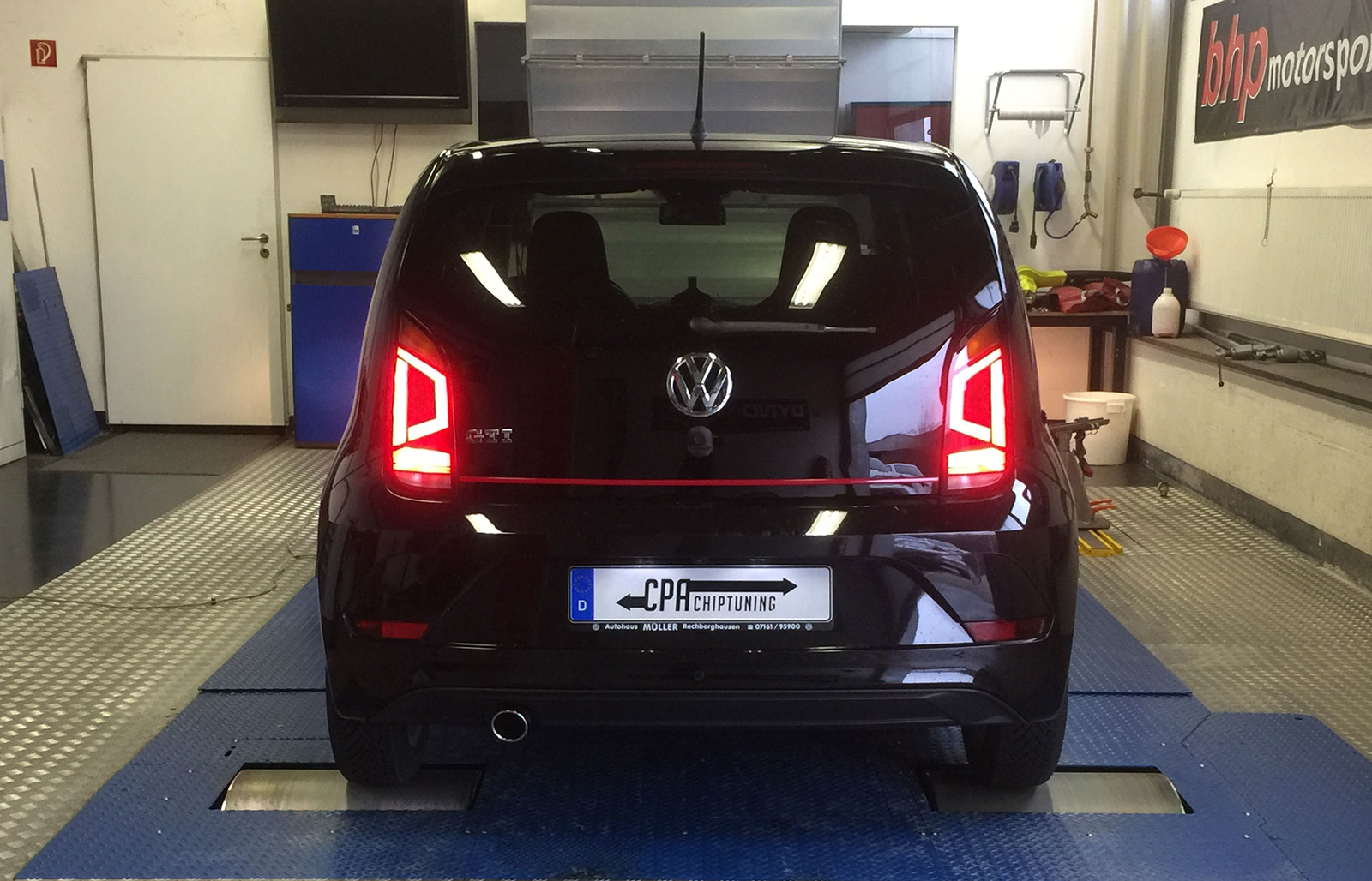 Chiptuning for the VW UP GTI
