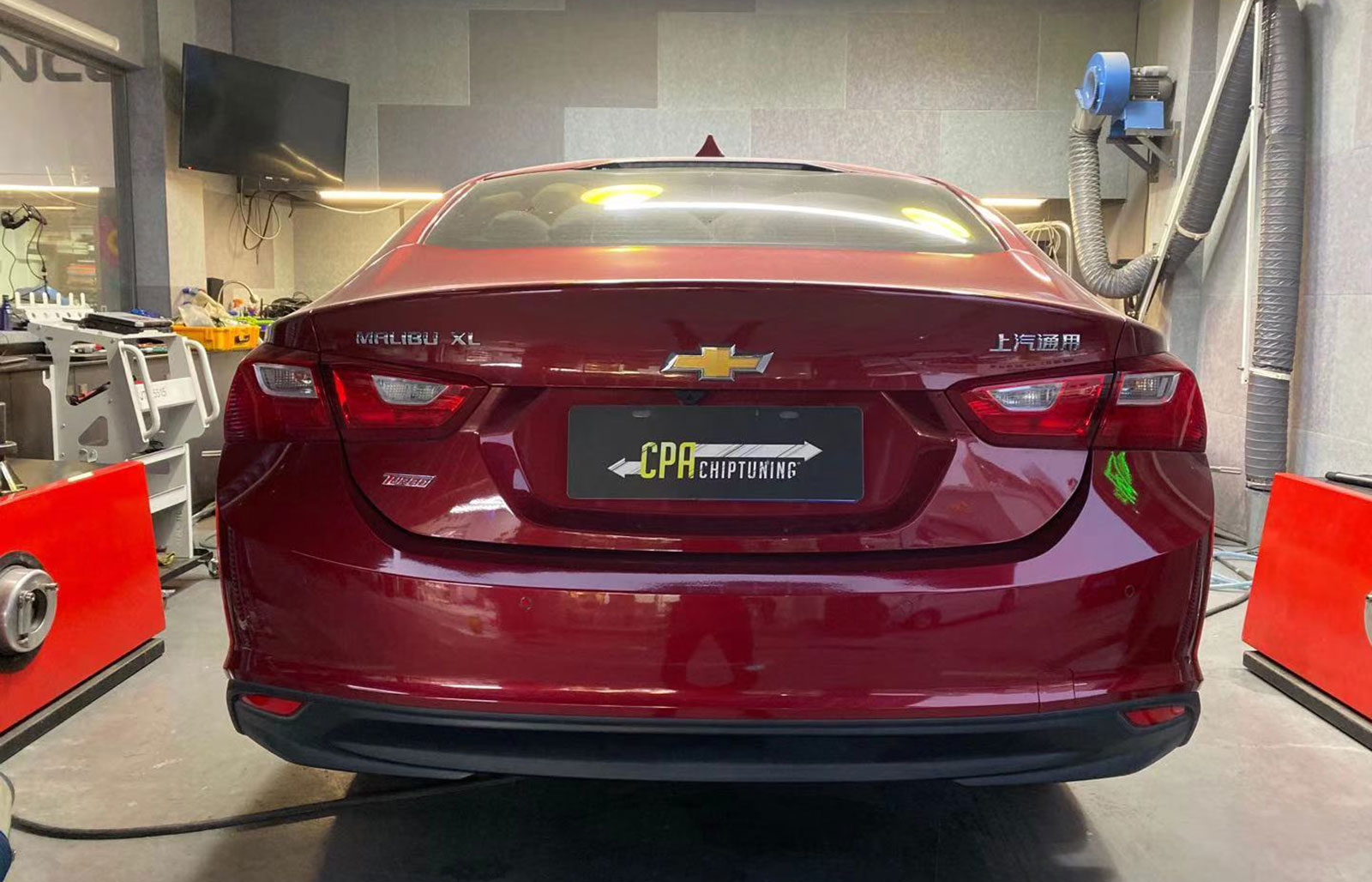 Chevrolet Malibu (VI) XL 1.5 chiptuning
