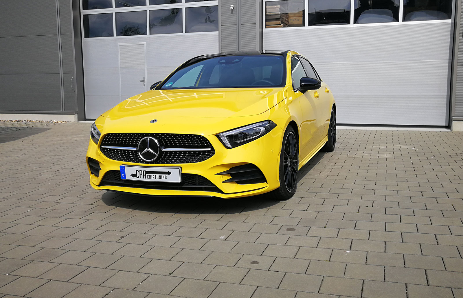 The new entry-level version at AMG, the A35 AMG