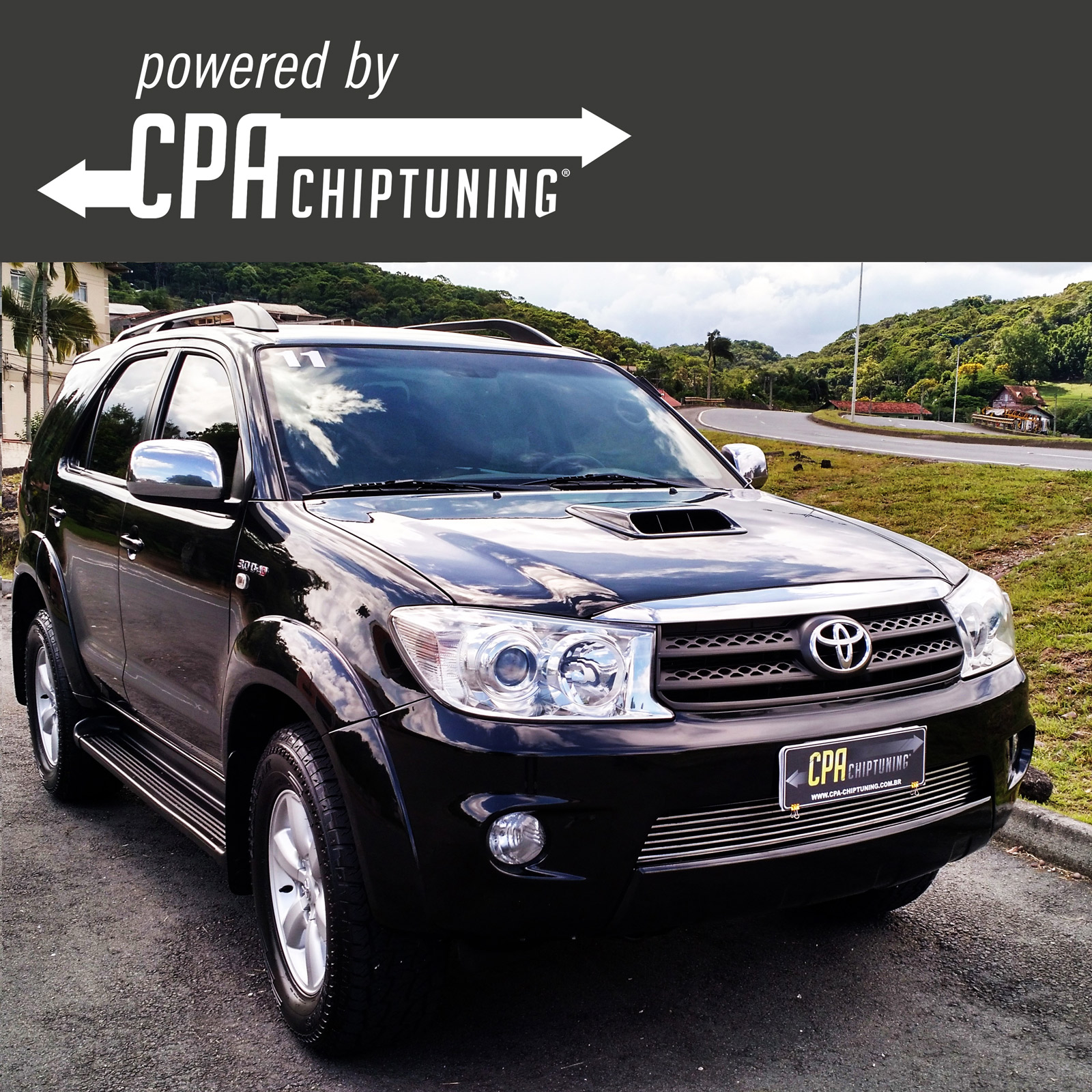 Toyota Hilux 3.0 D-4D in the CPA test