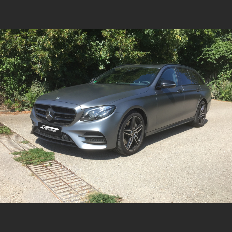 Mercedes tuning: The new E class in the test read more