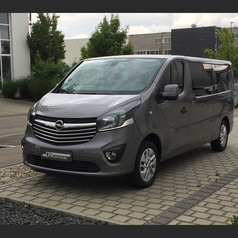 More power for the commercial vehicle: Tuning Opel Vivaro 1.6 read more